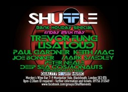 SHUFFLE 2ND PARTY FLIER